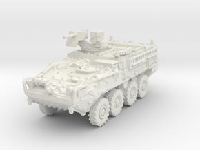 M1127 Stryker RV 1/87 in White Natural Versatile Plastic