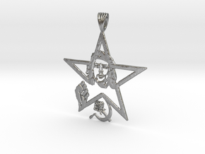 che guevarra pendant in Natural Silver