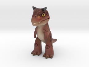 Carnotaurus in Natural Full Color Sandstone