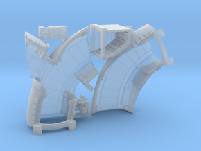 Bandai Lando Falcon Corridors and Details, 1:144 in Smooth Fine Detail Plastic