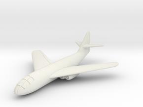 (1:144) Messerschmitt Me P.1101/103 (swept wings) in White Natural Versatile Plastic