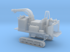 1/87th Tracked Mobile Chipper in Smooth Fine Detail Plastic
