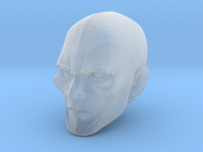 Bald Head 2 in Smooth Fine Detail Plastic