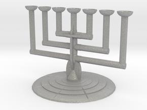 Lampstand in Aluminum