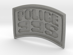 POLICE-995-badge (Wallet) in Gray PA12