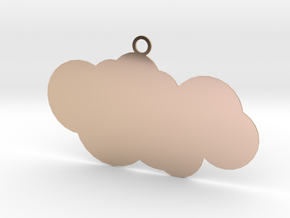 cloud in 14k Rose Gold: Small