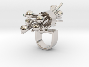 Marilo - Bjou Designs in Rhodium Plated Brass
