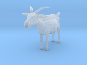 S Scale Goat in Smooth Fine Detail Plastic