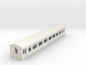 o-87-lnwr-siemens-trailer-coach-1 in White Natural Versatile Plastic