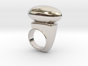 Taloton in Rhodium Plated Brass