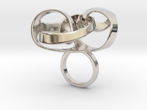 Cibti - Bjou Designs in Rhodium Plated Brass