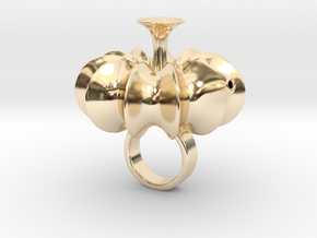 Patha - Bjou Designs in 14k Gold Plated Brass
