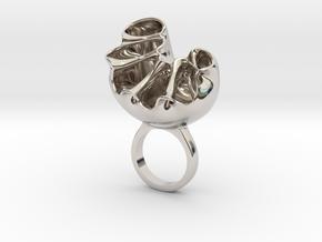 Rentisa- Bjou Designs in Rhodium Plated Brass