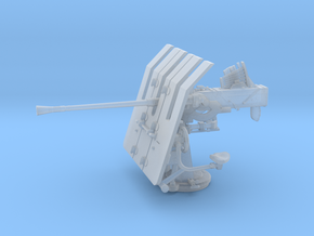 1/56 DKM 3.7cm Flak M42 Single Mount in Smooth Fine Detail Plastic