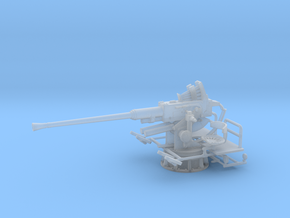 1/56 USN 40mm Single Bofors [UnElevated] in Smooth Fine Detail Plastic