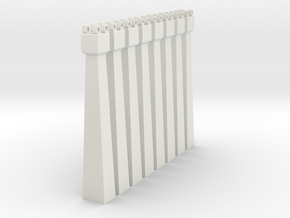 pylon_dl_104-x8 in White Natural Versatile Plastic