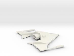 SS Saratoga spacecraft in White Natural Versatile Plastic
