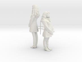 Printle C Femme 010 - 1/24 - wob in White Natural Versatile Plastic