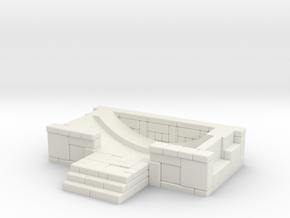 Skylander Portal Base in White Natural Versatile Plastic
