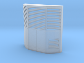 Carrier Reefer in Smooth Fine Detail Plastic