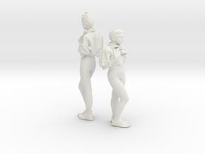 Cosmiton Multiples NML Femme 018 - 1/32 in White Natural Versatile Plastic