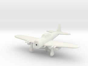 1/144 Mitsubishi A6M8 Zero in White Natural Versatile Plastic