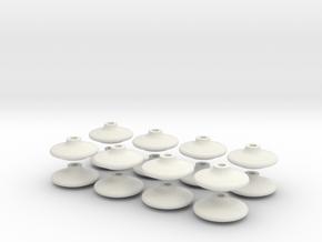 16 ailladors Faiveley in White Natural Versatile Plastic