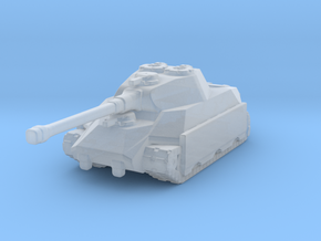 Bear Heavy Tank in Smooth Fine Detail Plastic