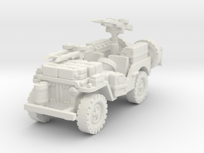 SAS Jeep scale 1/100 in White Natural Versatile Plastic