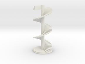 spiral staircase in White Premium Versatile Plastic