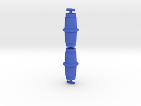 Alphatron Hollow Drums in Blue Processed Versatile Plastic