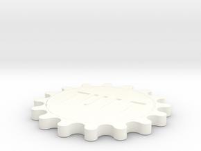 TUIT in White Processed Versatile Plastic