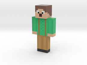 osterchlaus | Minecraft toy in Natural Full Color Sandstone