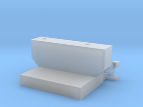 1:50 Transfer tank for 8ft bed Sword F250 in Smooth Fine Detail Plastic