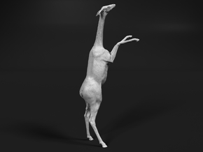 Gerenuk 1:32 Female feeding on two legs in Smooth Fine Detail Plastic