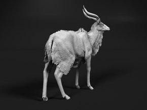 Nyala 1:72 Standing Male in Smooth Fine Detail Plastic