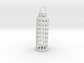 torre di pisa in White Natural Versatile Plastic
