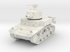 PV197A M3A1 Satan Flame Tank (28mm) in White Natural Versatile Plastic