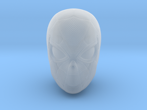 Spider-Man Head | Miles Morales/Peter Parker in Smooth Fine Detail Plastic