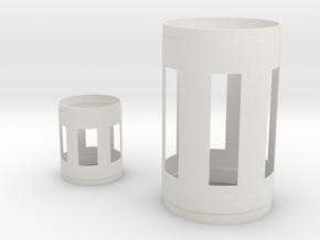 1:96 S-1C S-IVB for Matt Hollow in White Natural Versatile Plastic