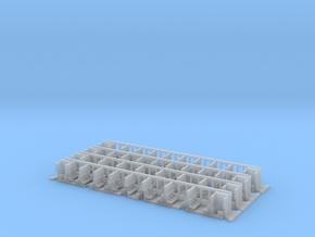 Schürzenwagen Inneneinrichtung (Set) in Smooth Fine Detail Plastic