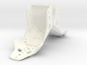 Aluminum 1:24 Racing seat pair in White Processed Versatile Plastic