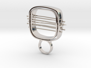 Wondero - Bjou Designs in Rhodium Plated Brass