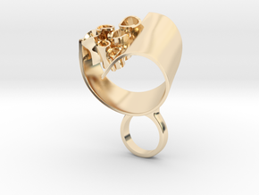Abstrato - Bjou Designs in 14k Gold Plated Brass