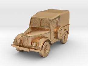 UAZ 69 + GAZ 69 2018 CORRECT BAMPER in Natural Bronze