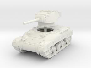 1/35 M7 Medium tank in White Natural Versatile Plastic
