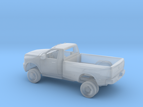 1/160 2012 Dodge Regular Cab Dually Kit in Smooth Fine Detail Plastic