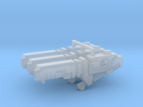 Ion Blaster 1.0  in Smooth Fine Detail Plastic: d3