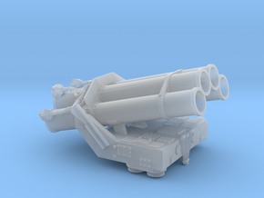 Bofors SR-375 ASW Rocket Launcher in Smooth Fine Detail Plastic: 1:96