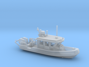 Defender 250 Rigid Inflatable Boat (1:148) in Smooth Fine Detail Plastic: 1:148